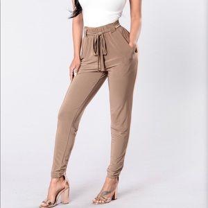 Fashion nova push play pants size M